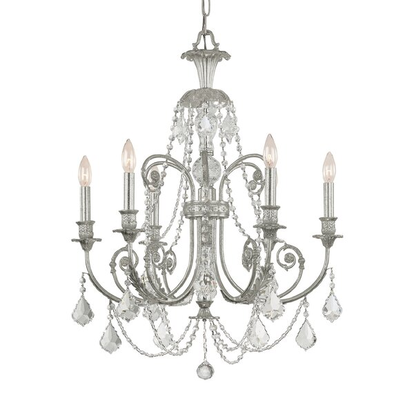 Frida 6-Light Candle Style Chandelier by House of Hampton