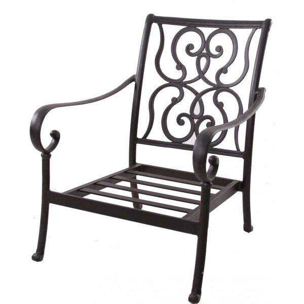 Poulin Club Chair with Cushions by Fleur De Lis Living