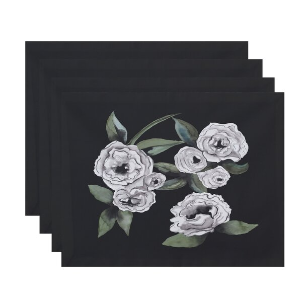 Ladwig Radiant Rose 18 Placemat (Set of 4) by Winston Porter