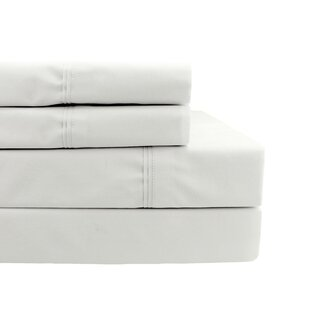 Shop Coulter Pleat Hem 300 Thread Count Percale Sheet Set ByRosecliff Heights