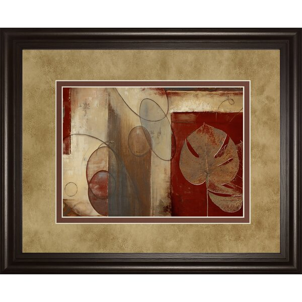 Inspiration in Crimson by Patricia Pinto Framed Painting Print by Classy Art Wholesalers