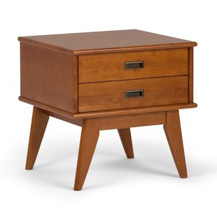 Halvorson End Table with Storage