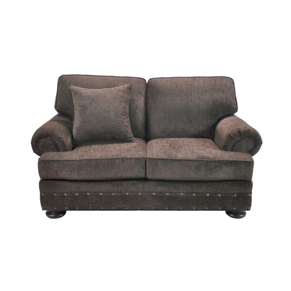 Cassius Stationary Loveseat by Fleur De Lis Living