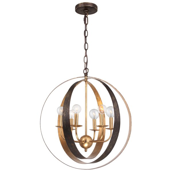 Mason 6-Light Chandelier by Corrigan Studio