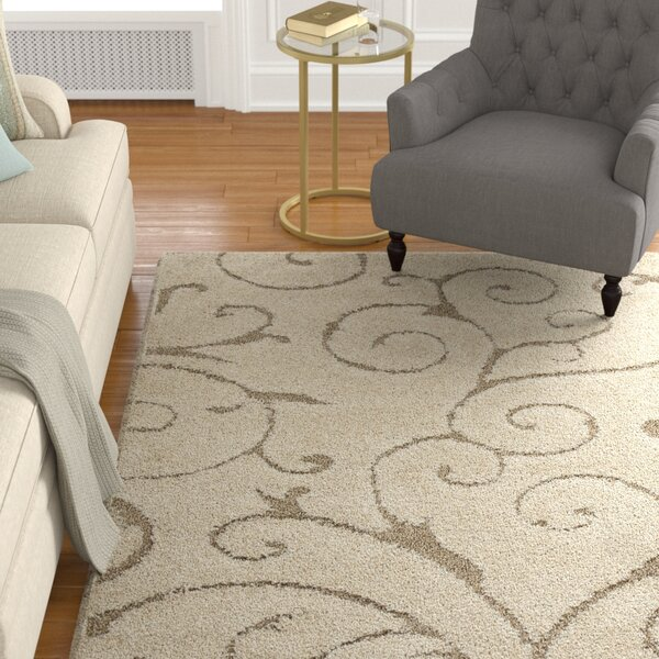 Henderson Cream Area Rug By Alcott Hill.