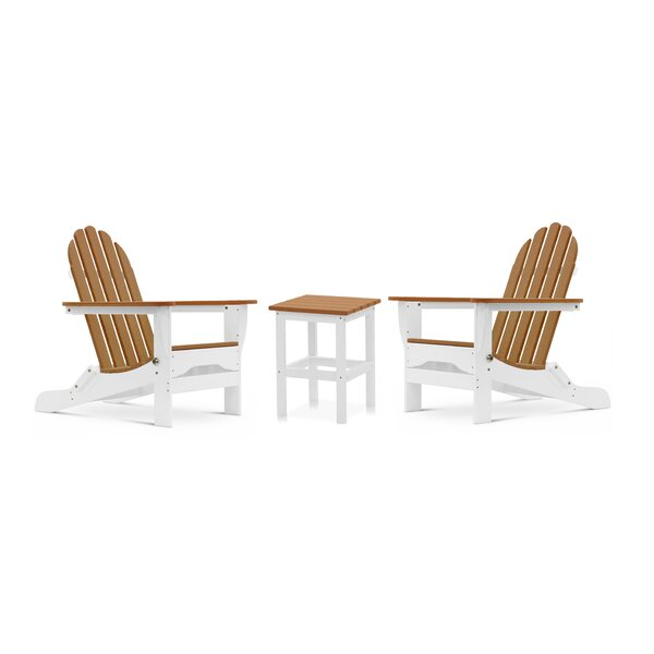 Cleaton 3 Piece Seating Group by Rosecliff Heights