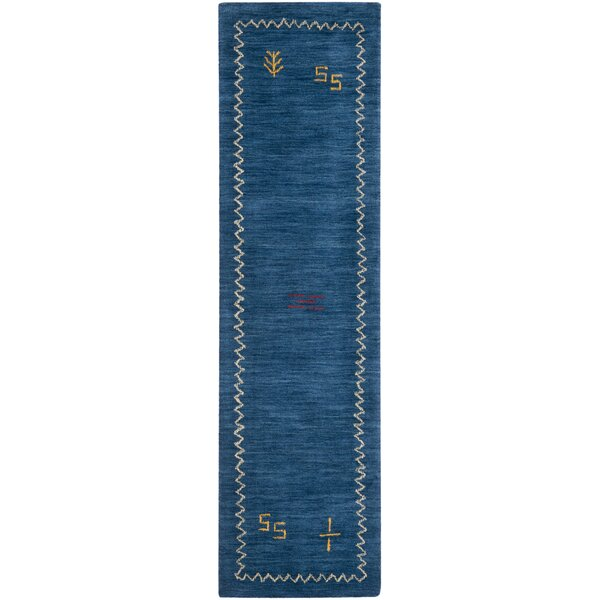Bolick Blue Area Rug by Wrought Studio