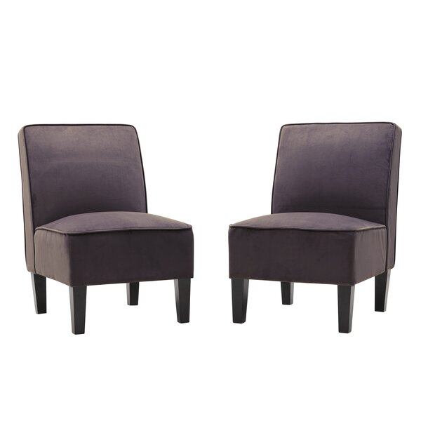 Ferebee Slipper Chair (Set Of 2) By Charlton Home