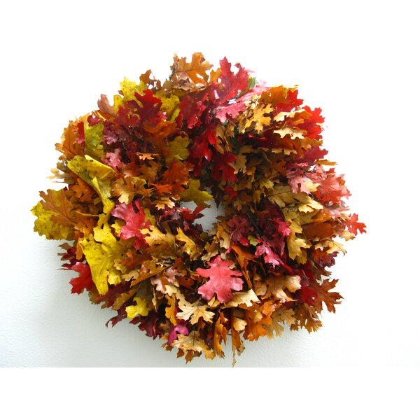 20 Autumn Leaves Wreath by From the Garden
