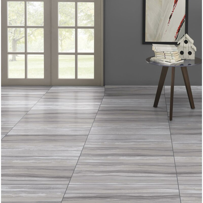 Emser Tile Ciudad 12 X 24 Ceramic Field Tile In Gray Reviews