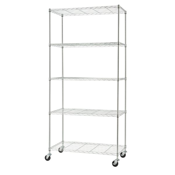 Black Wire 3 Shelf Counter Display Rack 24 W x 12 D x 24 H Inches
