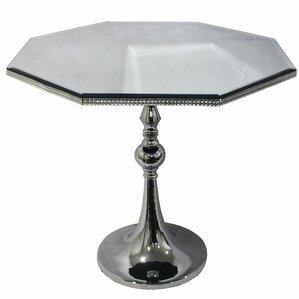 Westwood Glass End Table by House of Hampton