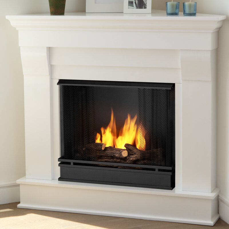 Corner Fireplace Mantel Packages Youll Love Wayfair