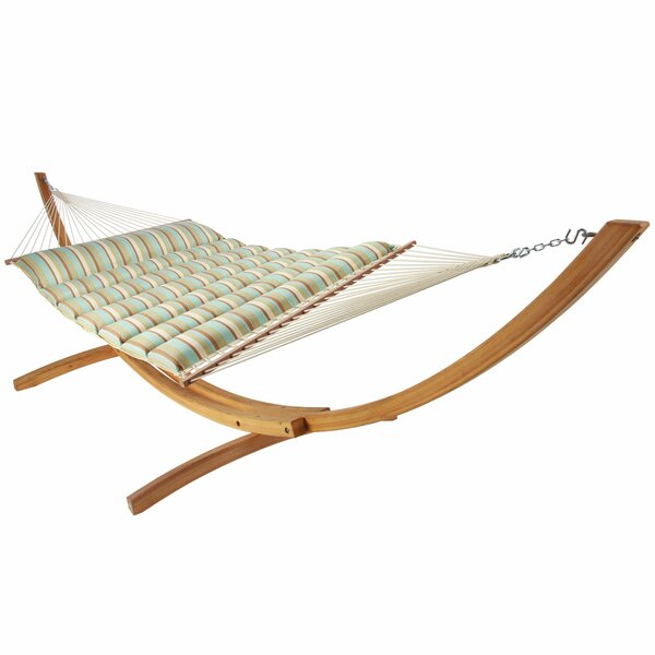 Lacluta Pillowtop Polyester Hammock by Latitude Run