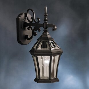 Savings Connan 1-Light Outdoor Wall Lantern By Astoria Grand