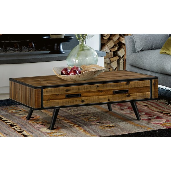 Torney Coffee Table with Storage by 17 Stories