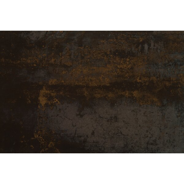 Nickel Antares 16 x 24 Porcelain Tile in Gold by MSI