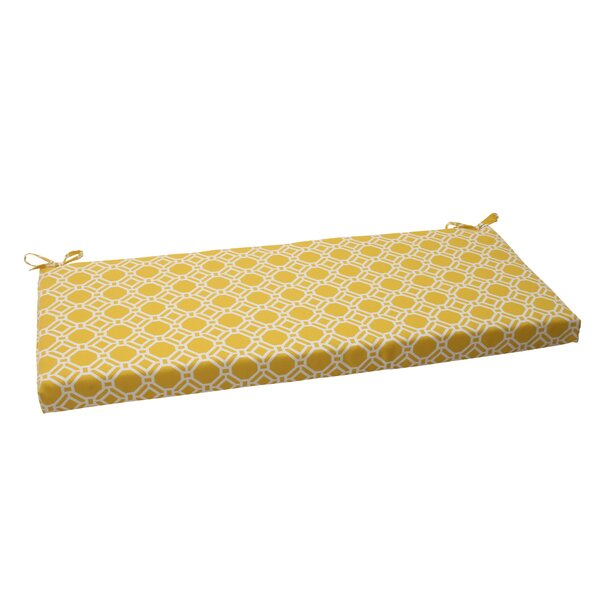 Rossmere Indoor/Outdoor Bench Cushion by Pillow Perfect