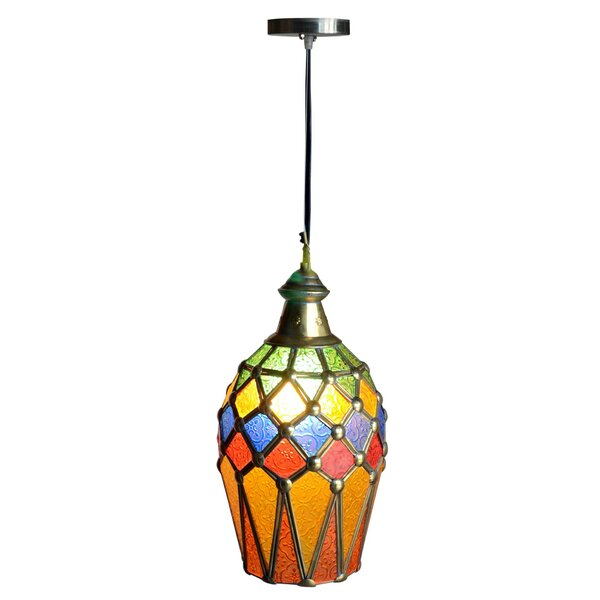 Blandford 1 Lignt Mini Pendant by Bay Isle Home