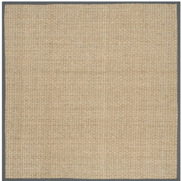 Binford Natural/Dark Gray Area Rug by Laurel Found