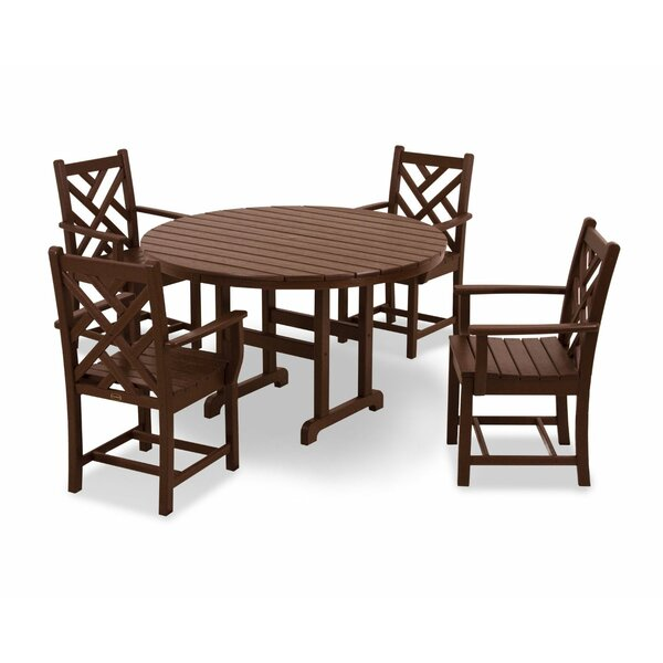 Chippendale 5-Piece Dining Set by POLYWOOD®