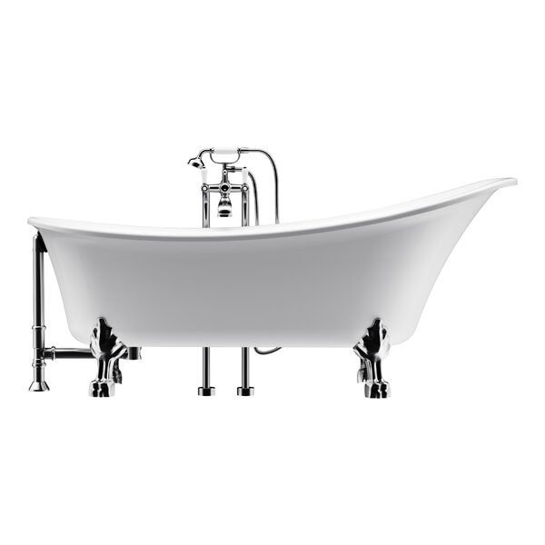 Dorya 69 x 30 Freestanding Soaking Bathtub by A&E Bath and Shower
