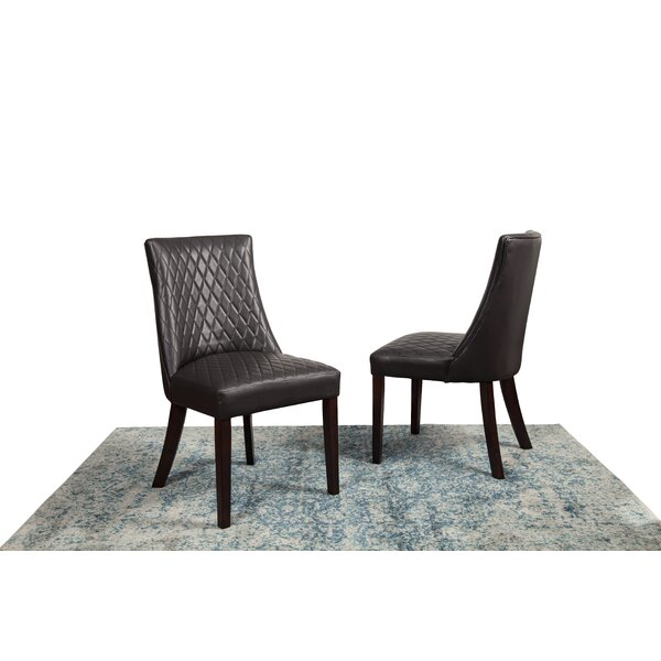 Ava-May Upholstered Dining Chair (Set Of 2) By Latitude Run