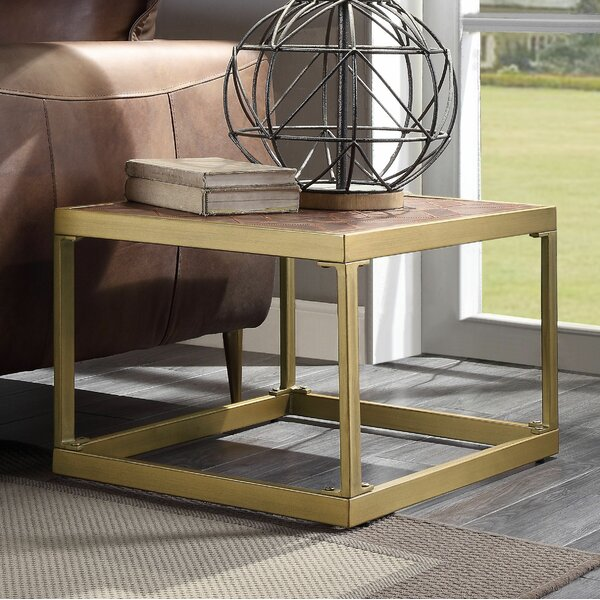 Pamela End Table by 17 Stories