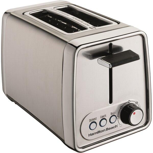 2 Slice Modern Toaster by Hamilton Beach