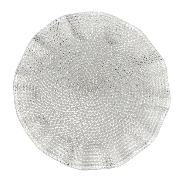 Ruffled Placemat (Set of 2) by Linen Tablecloth