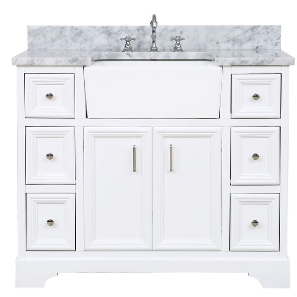 Zelda 42 Bathroom Vanity Set by Kitchen Bath Collection