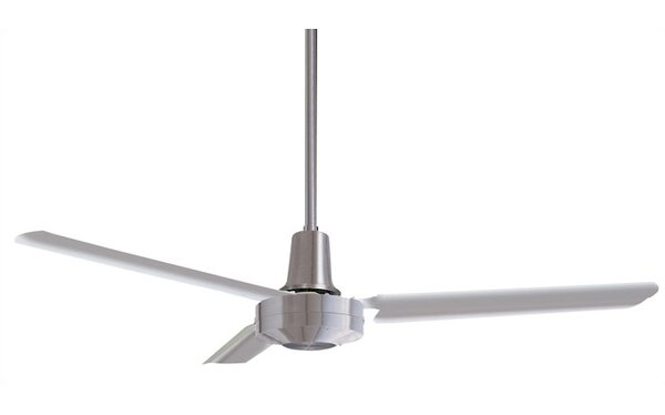 56 Conder Industrial 3-Blade Ceiling Fan by Ivy Br