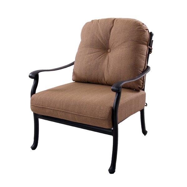 Lenahan Club Chair and Ottoman with Cushion by Alcott Hill