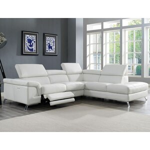 Oakfield Reclining Sectional Wade Logan