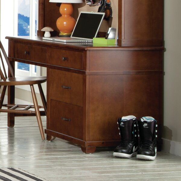 Bonneau 53 W Writing Solid Wood Desk by Harriet Bee