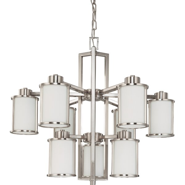 Floyd 9 - Light Shaded Tiered Chandelier By Latitude Run