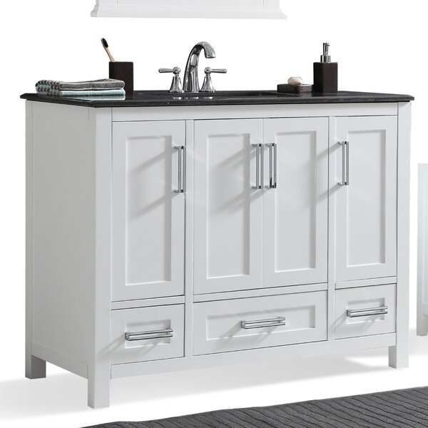 Evan 43 Single Bathroom Vanity Set by Simpli Home