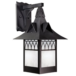 Compare & Buy Wester Fixed Arm LED Outdoor Wall Lantern By Millwood Pines