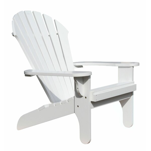 Atlantic Solid Wood Adirondack Chair by Douglas Nance