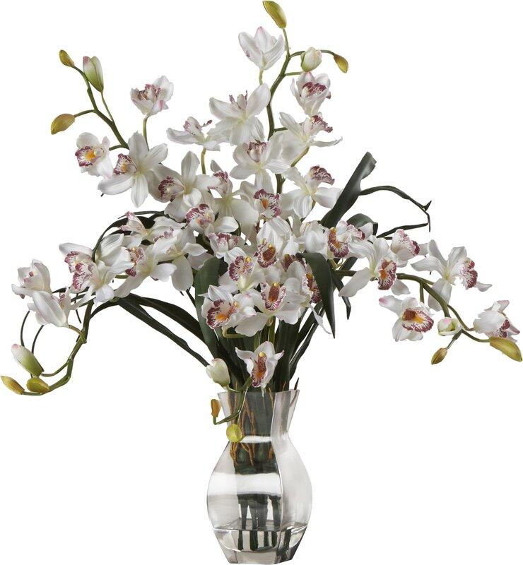 World menagerie orchid silk flower arrangement in white reviews orchid silk flower arrangement in white mightylinksfo