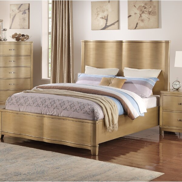 Ryde Wooden Standard Bed by Everly Quinn
