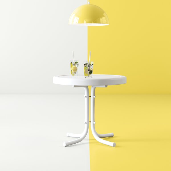 Karim Steel Side Table By Wrought Studio by Wrought Studio Great price