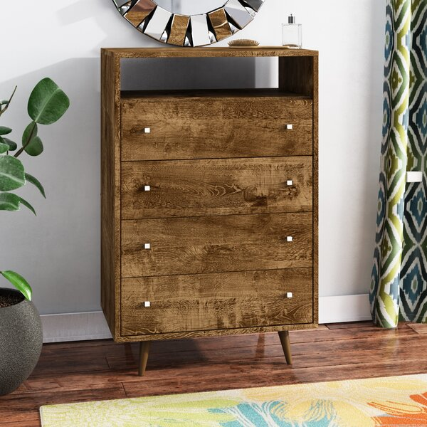 Hayward 4 Drawer Dresser by Modern Rustic Interiors