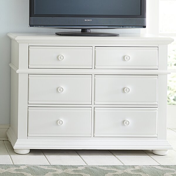 Dickens 6 Drawer Double Dresser by Beachcrest Home