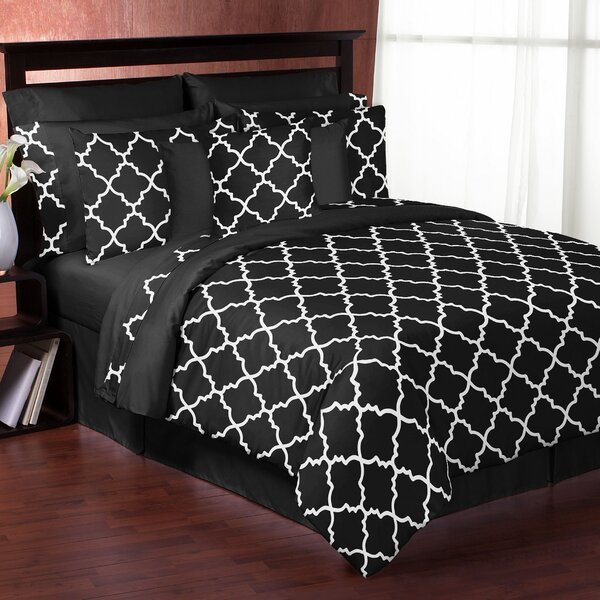 Trellis 3 Piece Comforter Set by Sweet Jojo Designs