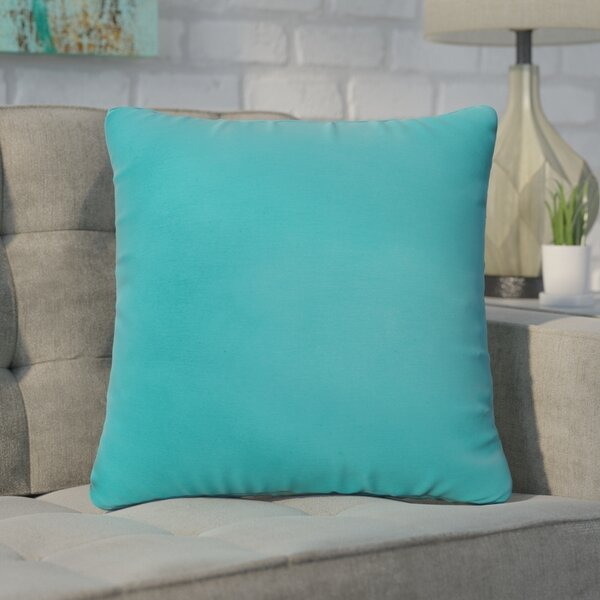 Branan Square Knife Edge Indoor/Outdoor Throw Pillow (Set of 2) by Mercury Row