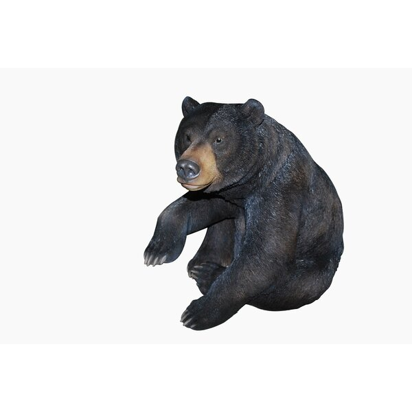 Seated Bear Statue by Hi-Line Gift Ltd.