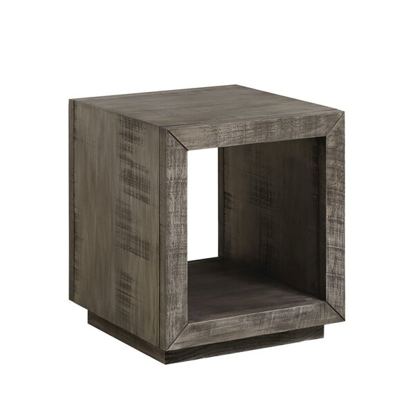 Balfour Rectangular End Table by 17 Stories