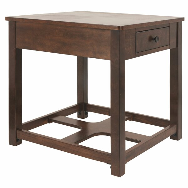 Milliman End Table With Storage By Union Rustic