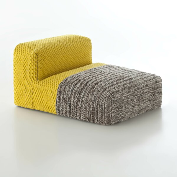 Mangas Chaise Lounge By GAN RUGS